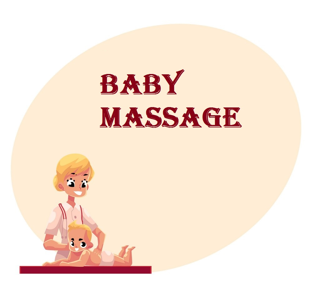Book Baby Massage Services Online on gkmaidservices.com to Get Baby Massage Bai