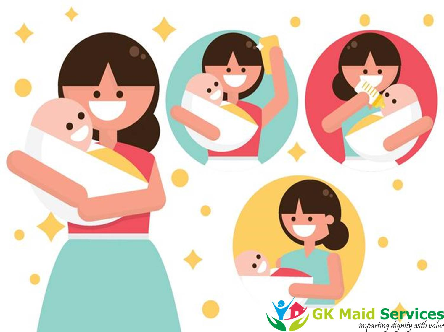 Best Nanny Agency to Book Nanny Services Online on gkmaidservices.com